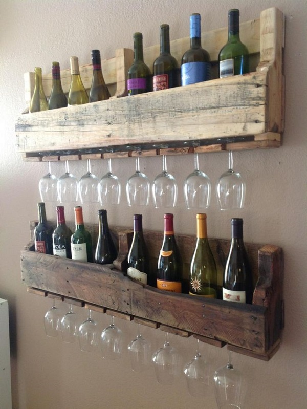 Spice rack to organise your drinking glasses