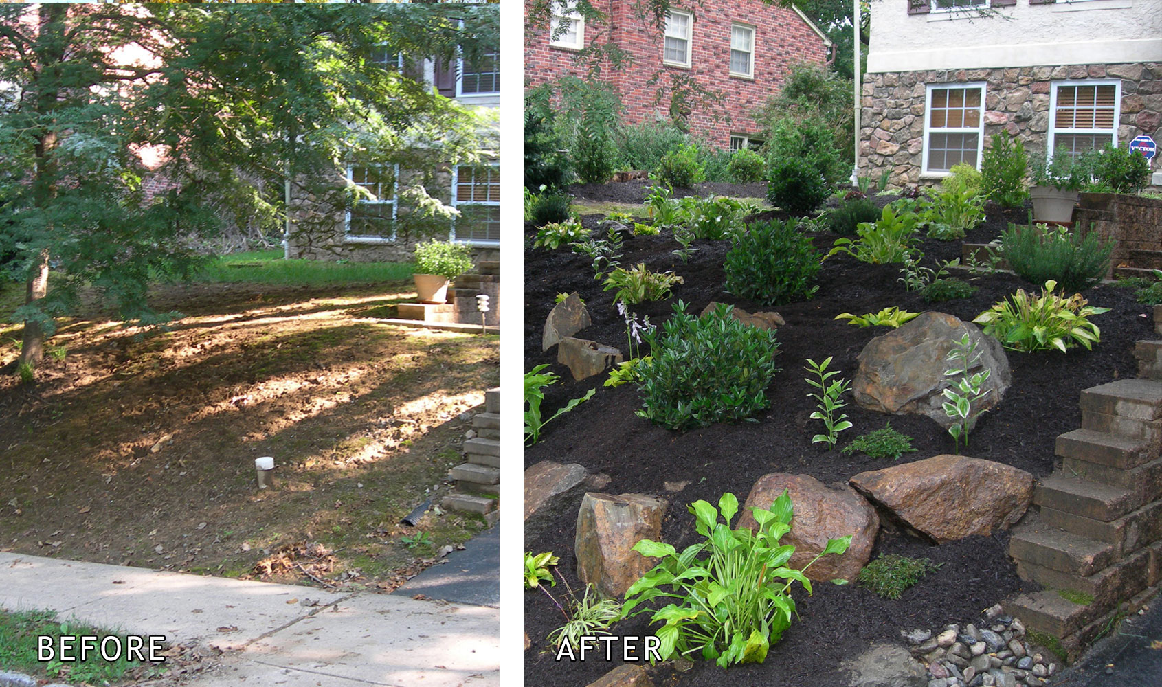 Landscaping is the first impression for home buyers