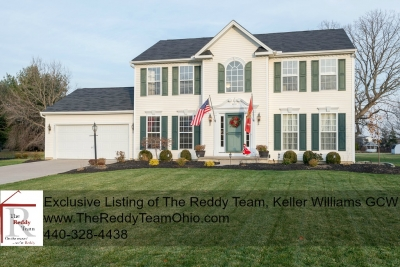 Country Views on Suburban Cul de Sac, North Ridgeville OH $265,000
