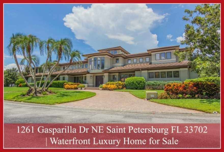 1261 Gasparilla Dr NE Saint Petersburg FL 33702 | Luxury Home for Sale