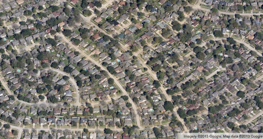 8 Aerial Views of Popular American Housing Patterns