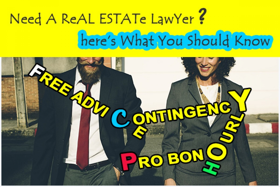 WILL A LAWYER TAKE MY REAL ESTATE CASE?