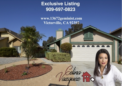 Available Now! 13672 Gemini St Victorville CA 92392 FOR RENT by Celina Vazquez