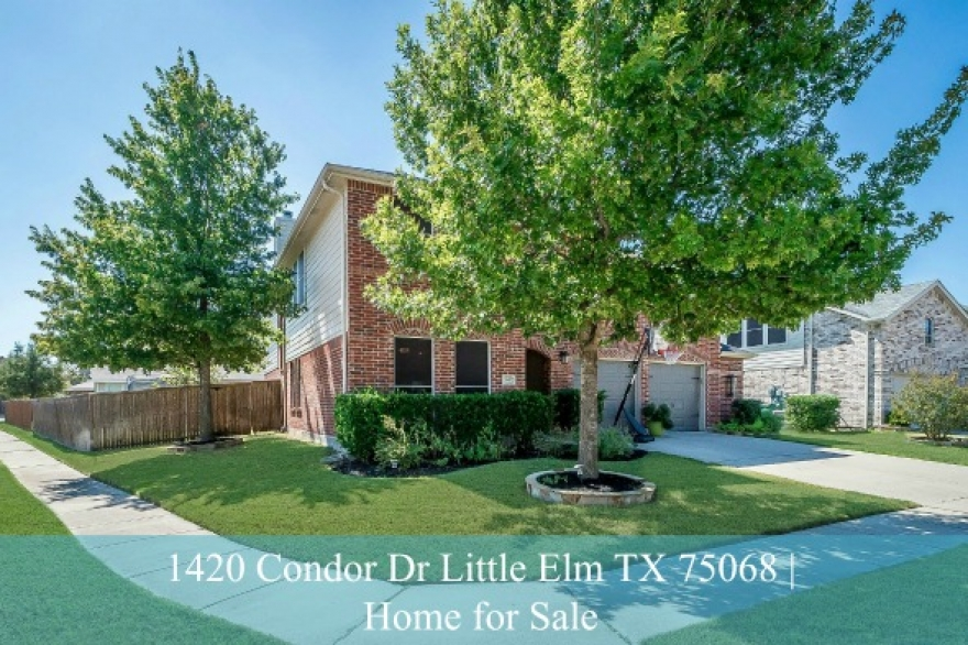 1420 Condor Dr Little Elm TX 75068 | Paloma Creek South Home for Sale