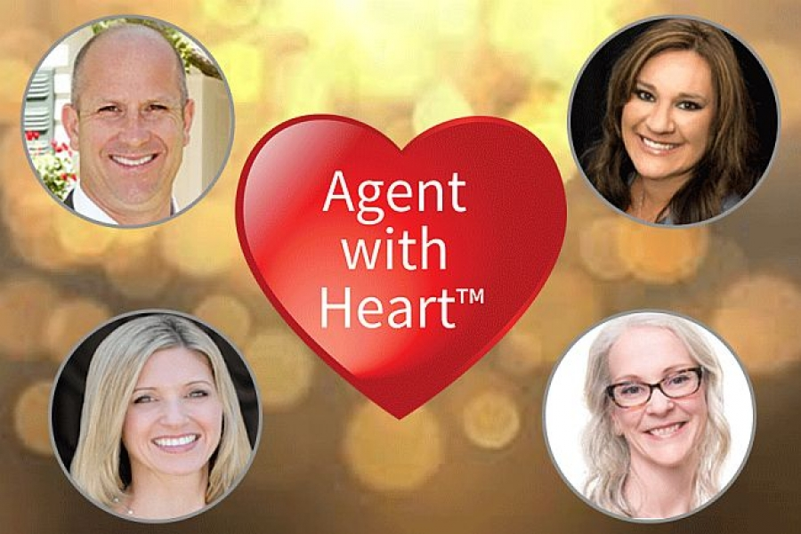 October Hits a Record Month of Real Estate Donations, Sending Funds to Local Nonprofits Through the Agent with Heart Program