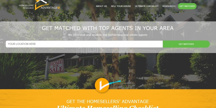 AdvantageU Launches a New Website to Provide Premium Services to Home Sellers and Home Buyers