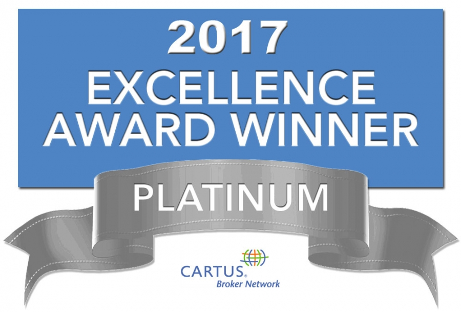 Coldwell Banker Residential Real Estate Named Platinum Award Winner by Cartus Broker Network