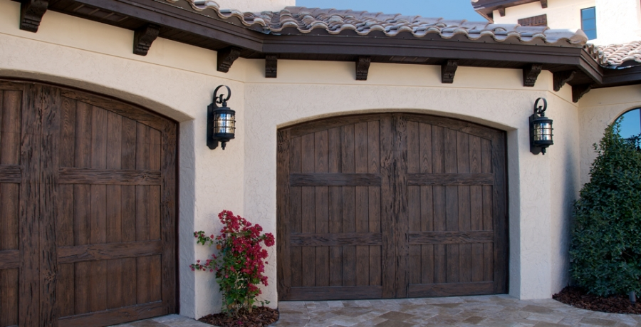 Fatezzi Faux Wood Garage Doors