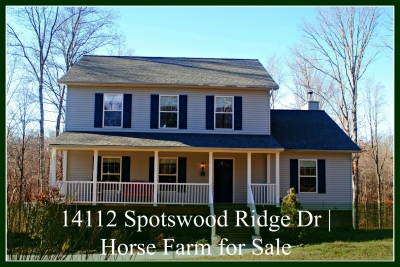 14112 Spotswood Ridge Dr | Horse Farm For Sale
