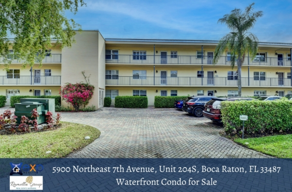 Boca Raton FL waterfront condo for sale- This beautiful Boca Raton FL waterfront condo has everything that you want in a home!