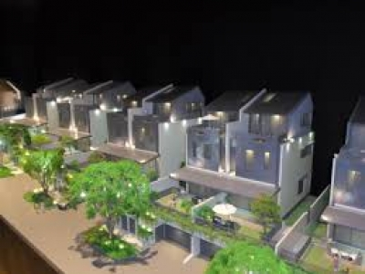 The new Condominum called Victoria Park Villas