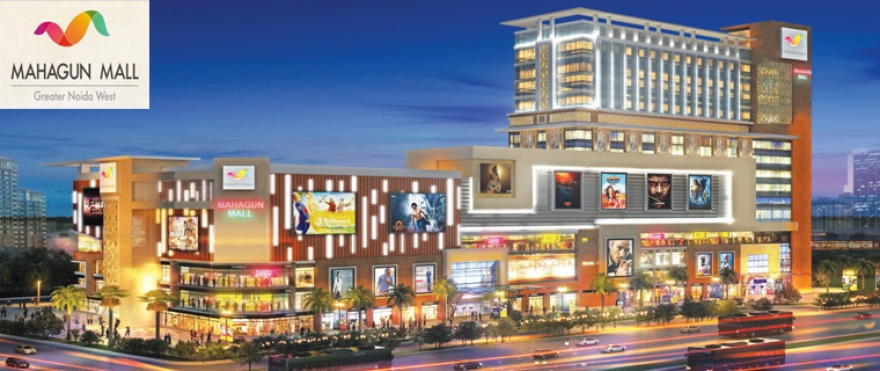 MAHAGUN MALL ONE OF THE COMMERCIAL ESTABLISHMENT OF MAHAGUN GROUP