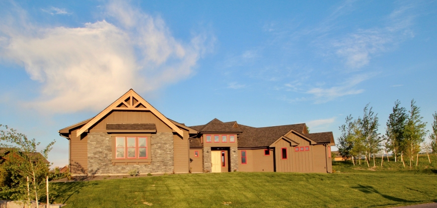 Distinguished Custom Montana Home in Black Bull Private Community