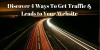 Workshop: Discover the 4 Ways to Get Traffic and Leads to Your Website