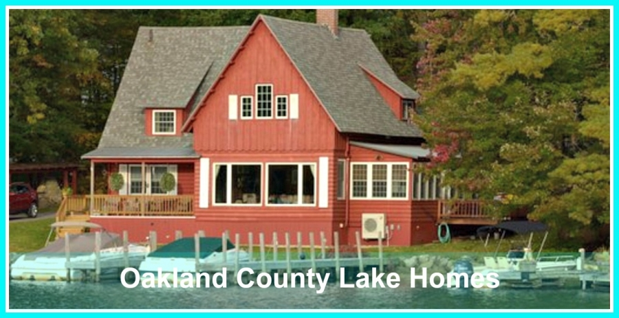 Oakland County Lake Homes