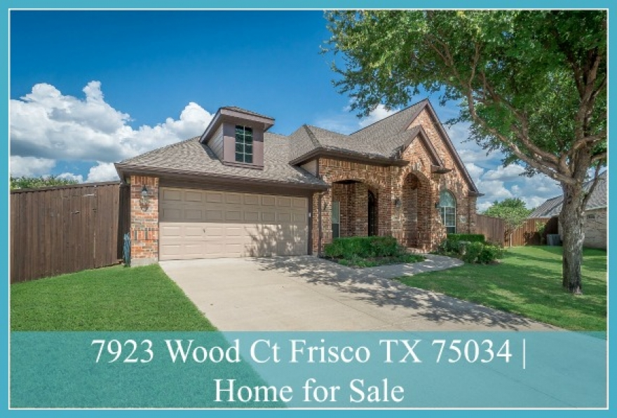 7923 Wood Ct Frisco TX 75034 | Heritage Village Home for Sale