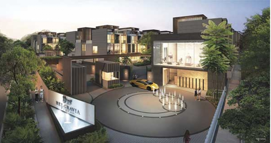 Belgravia Villas New Semi-Detached & Terraces Strata Landed Houses | Call Showflat (+65) 6100 0877