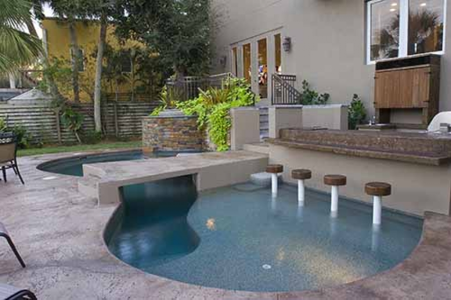 3 Ways To Make Your Tiny Backyard Feel Like A Resort With A Small Pool