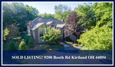 SOLD LISTING! 9200 Booth Rd Kirtland OH 44094