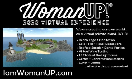 Terri Sits Down With The Three Powerhouse Founders Of WomanUP!® To Discuss The 2020 WomanUP!® Virtual Experience - Registration Now Open!