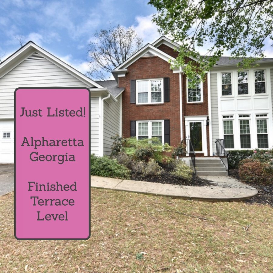 Alpharetta GA 5 Bedroom Home With Entertainers Terrace Level