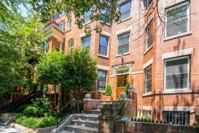 $2.5 Million Kalorama Row House Hits the Market