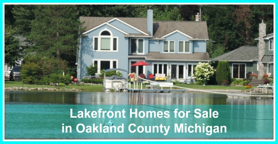 Developed lakefront homes are all ready for occupancy.