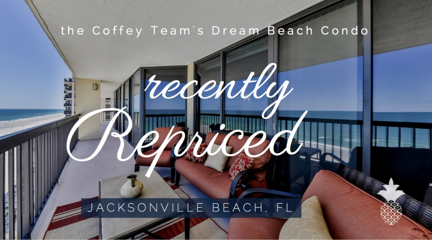 Make this prime waterfront condominium for sale in Jacksonville Beach your private retreat.