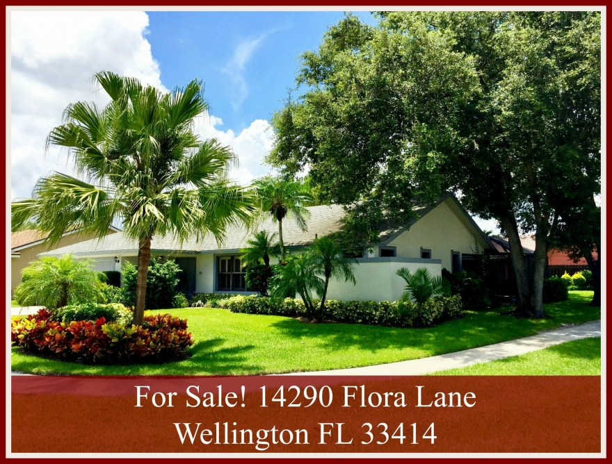 Home For Sale Near Binks Forest Elementary School in Wellington FL - 14290 Flora Lane Wellington FL 33414