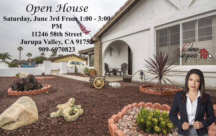 OPEN HOUSE! JURUPA VALLEY SKY COUNTRY COMMUNITY JUNE 3RD 11246 58TH ST
