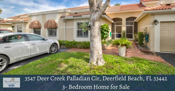 Deerfield Beach FL home for sale- Experience a comfortable lifestyle in this Deerfield Beach FL villa for sale.