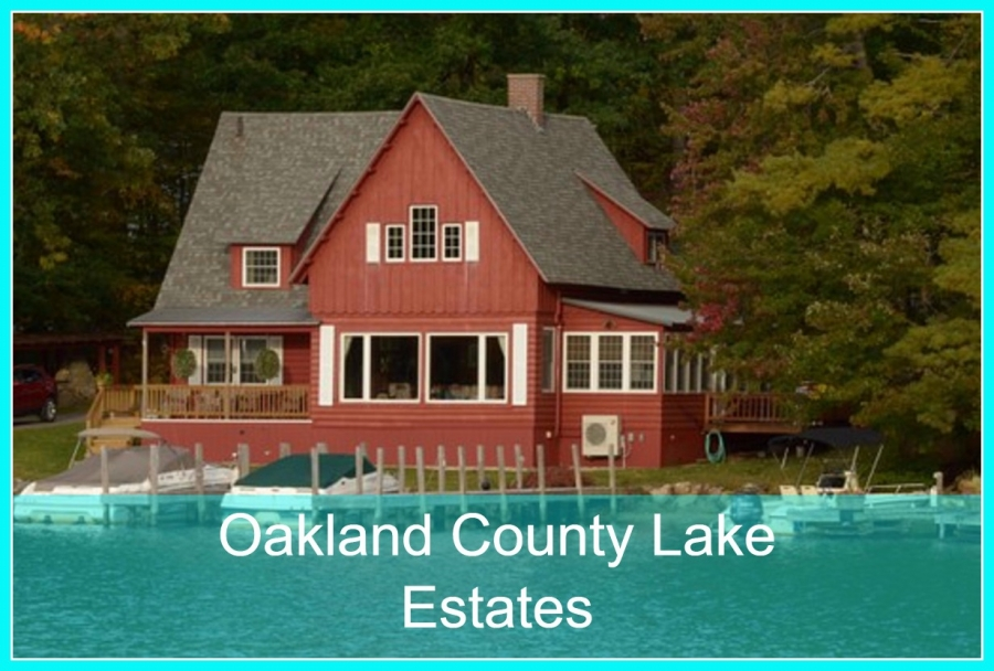 Lake Homes in Oakland County- Fulfill your dream of owning a lakefront home here at Oakland County!