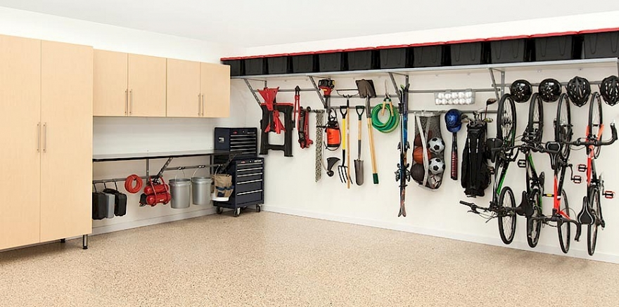 Store The Repair Tools And Garage Items Inside The Strong Vaults And Cabinets