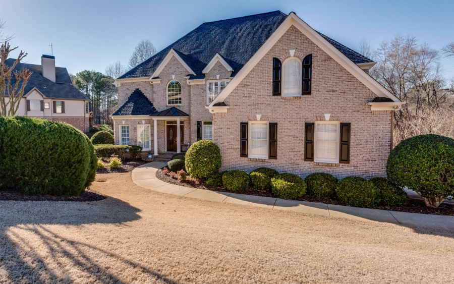 Golf Course Home in Canton Georgia - Open House 2/5 2-4pm