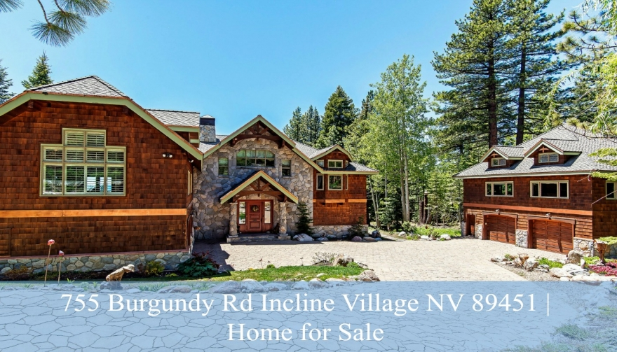 755 Burgundy Rd Incline Village NV 89451 | Home for Sale