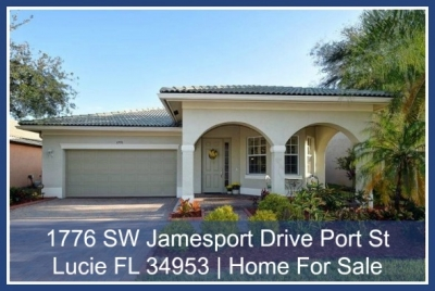 1776 SW Jamesport Drive  Port St Lucie FL 34953 | Newport Isles Home for Sale