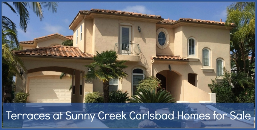 Homes for Sale in Terraces at Sunny Creek Carlsbad - You don't need to worry about vacation being too far away when you live in the homes of Sunny Creek Carlsbad.