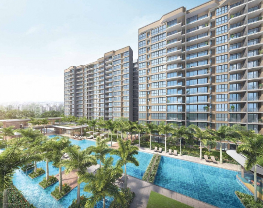 Hundred Palms Residences EC Latest Launch in Yio Chu Kang District 19 | Call Showflat (+65) 6100 0877