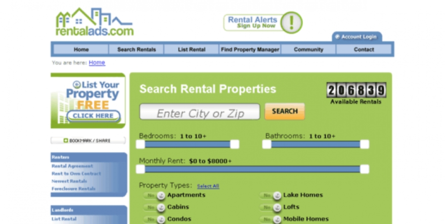Rentalads.com and Benefits Offered for the Furnished rentals