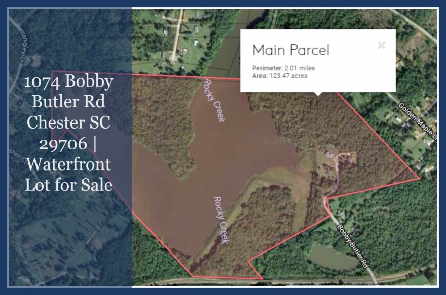 This Chester SC lot for sale is just minutes away from Chester's city center.