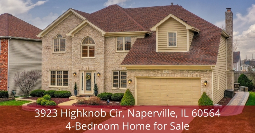 Naperville IL home for sale- If you have been looking for a relaxing escape, this Naperville IL home is perfect for you.