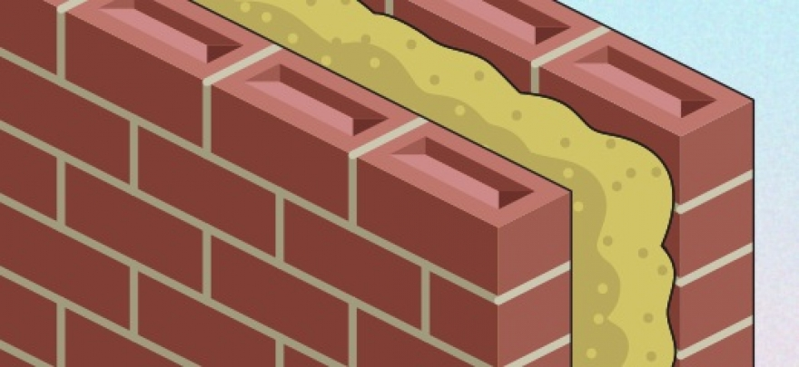 What is cavity wall insulation and how can problems with it be solved?