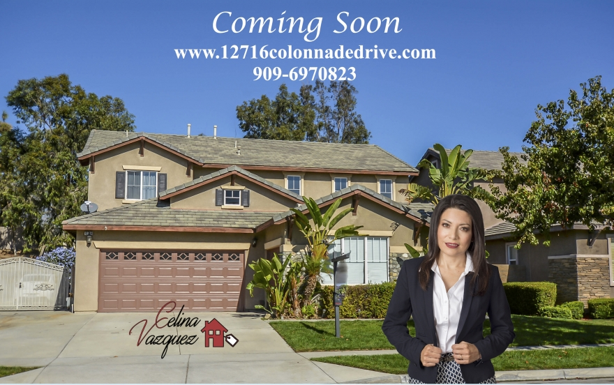 Coming Soon! 12716 Colonnade Drive, Rancho Cucamonga, CA 91739 For Sale by Celina Vazquez