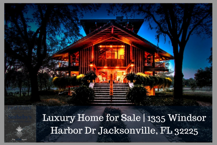Privacy and retreat are yours in this Jacksonville FL luxury home for sale.