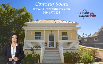 3376 Franklin Ave - Riverside- CA- 92507 - Coming Soon! For Sale By Celina Vazquez
