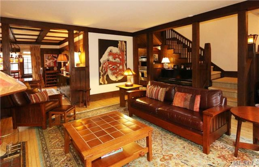 This Stately Historic Douglaston Manor Home Was Designed By Gustav Stickley