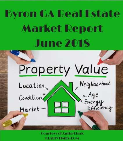 Byron GA Real Estate Market Report - June 2018 Edition