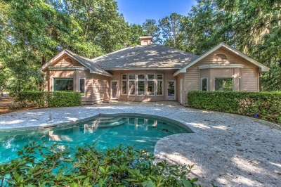 Windmill Harbour Real Estate | 3 Bedroom one level home for sale 43 Millwright Dr Hilton Head Island, SC 29926