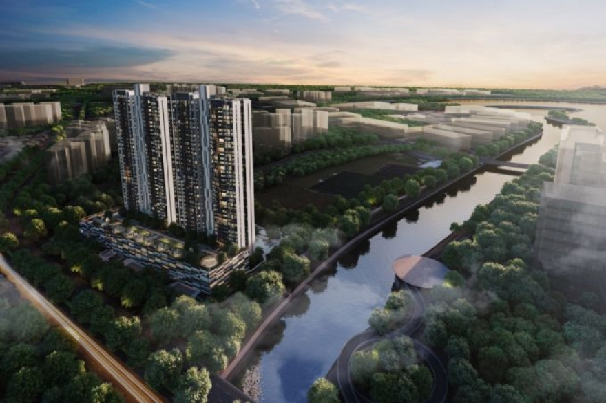 Twin View - An Exciting Condo near Spore 2nd CBD