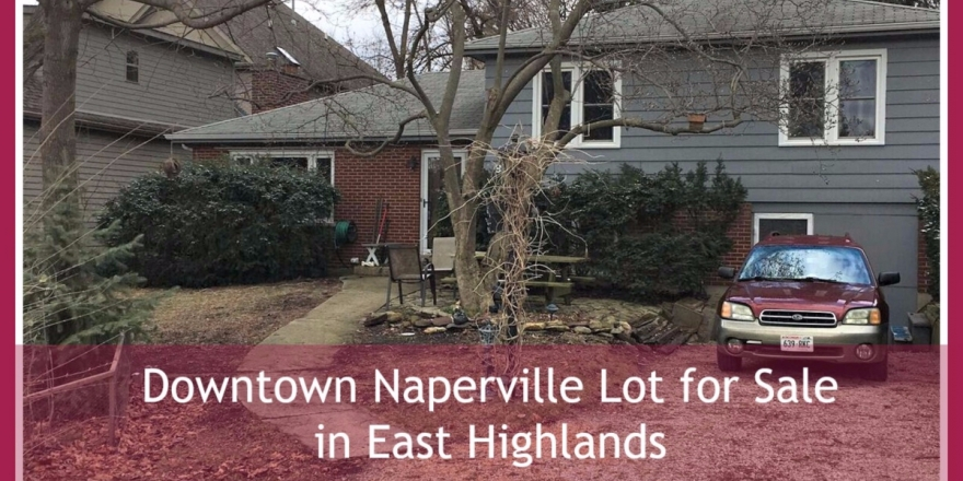 Downtown Naperville Lot for Sale in Luxury East Highlands